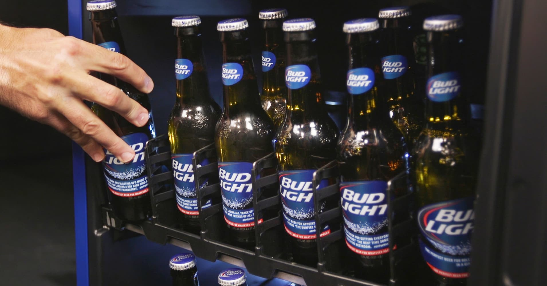 Out Of Beer Bud Light S Smart Fridge Will Tell You